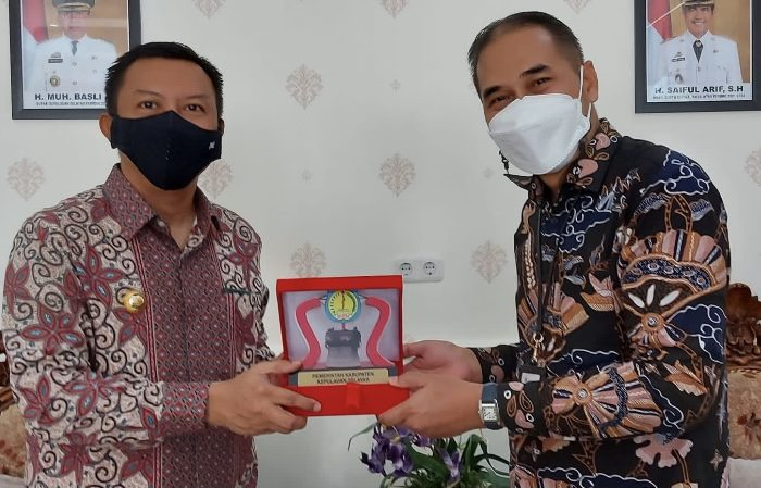 Basli Ali Terima Kunjungan Branch Manager PT. Taspen KCU Makassar